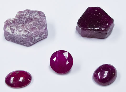 pink sapphire after treatment
